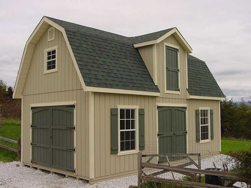 Two story storage sheds styles for 2 story barns