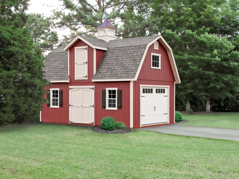 2 story dutch sheds amish mike amish sheds amish barns for Yard barn