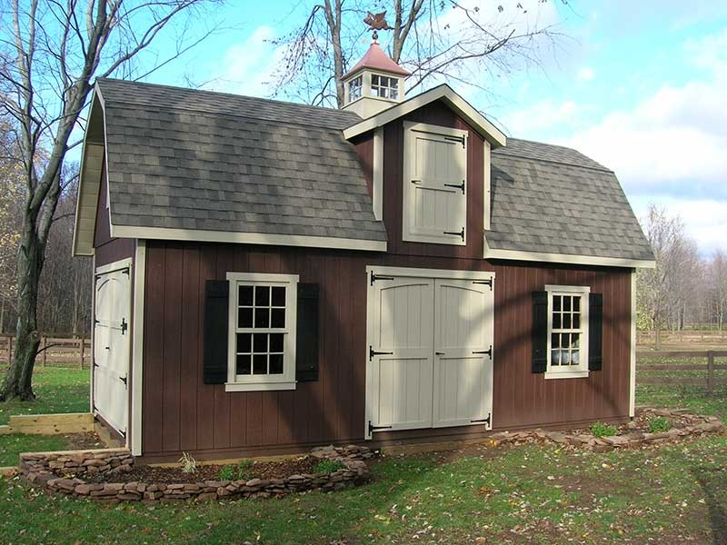 2 story dutch sheds amish mike amish sheds amish barns for 2 story barns