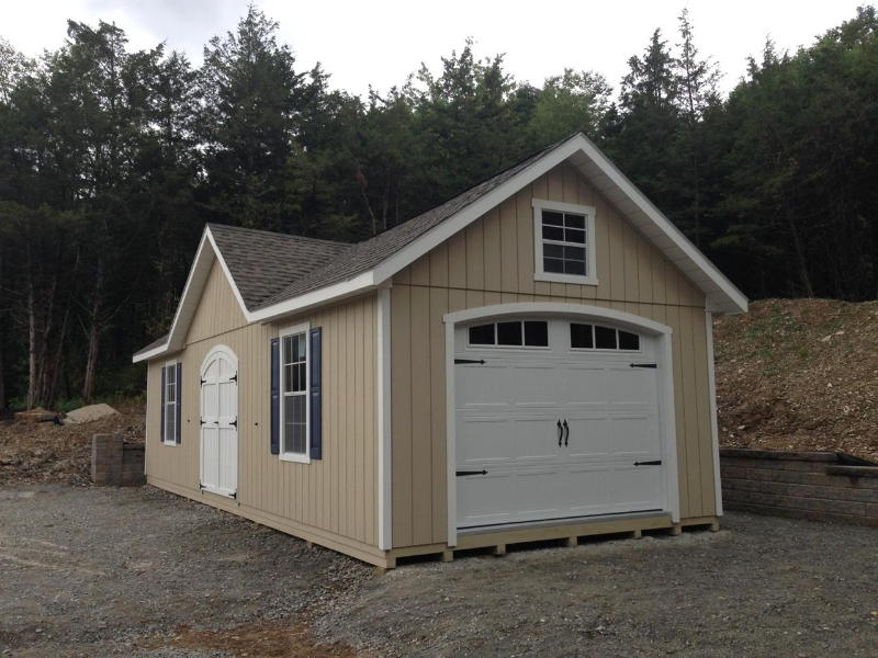 2 Car Garages Amish : Car garages nj amish mike