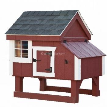 3' x 3' A-Frame Chicken Coop
