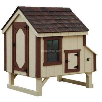 4' x 4' A-Frame Chicken Coop