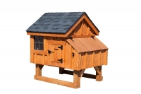3' x 3' A-Frame BB Cedar Chicken Coop