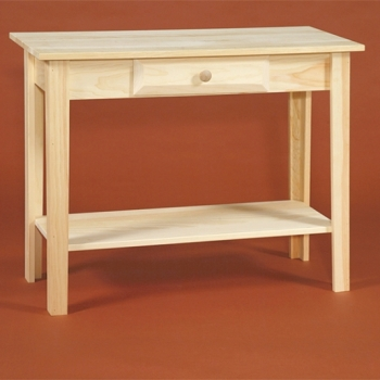 "DR-279 36"" Sofa Table with Shelf 35 1/2x15x27$95.00"