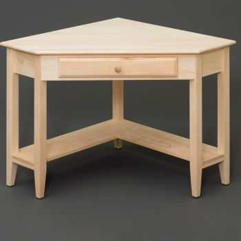NOB-162 Corner Table 47 1/2wx32dx30h$350.00