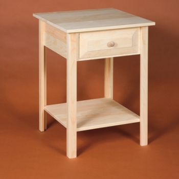 DR-414 Square Table with Drawer 20wx20dx29h$90.00