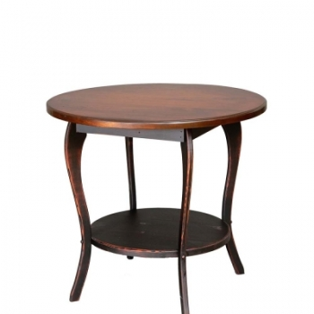 "VIN-47-A 30"" Round Lamp Table 30wx37h"
