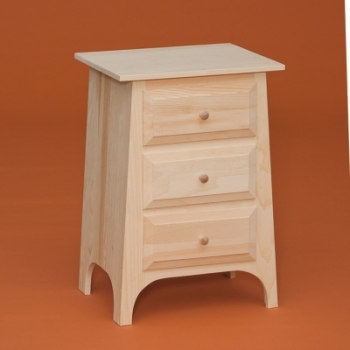 Dr-653 3 Drawer Chest 20 1/2wx16 1/4dx29 3/4h$140.00