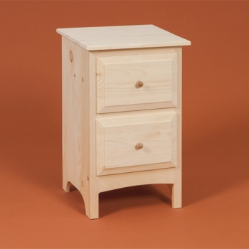 DR-722 2 Drawer Nightstand 17 3/4wx15 3/4dx 28h$130.00