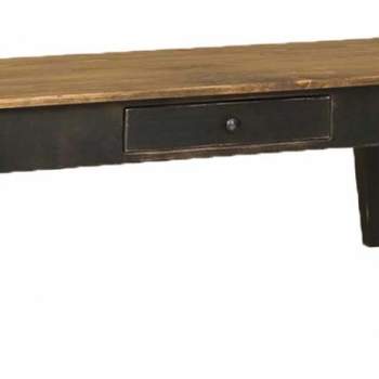 J-25 Coffee Table with Drawer 46 1/2wx20 1/2dx19h$260.00