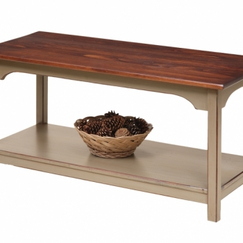 K-1355-Shaker Coffee Table 40wx18dx19h$290.00