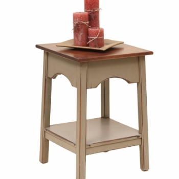 K-1381-Shaker End Table 1717wx17dx24h$195.00