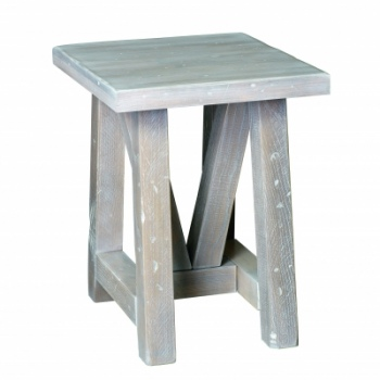 "CCC-441 Olde Farmstead Chairside End Table 20""D x 19.25""L x 24""H; No bands"