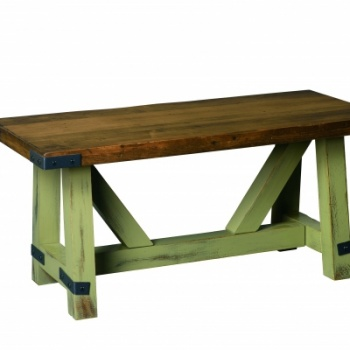 "CCC- 442 Olde Farmstead Cocktail Table 18""D x 42""Lx 19""H"