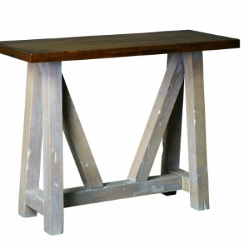 "CCC-444 Olde Farmstead Console Table 16"" D x 40""Lx 30"" H; No bands"