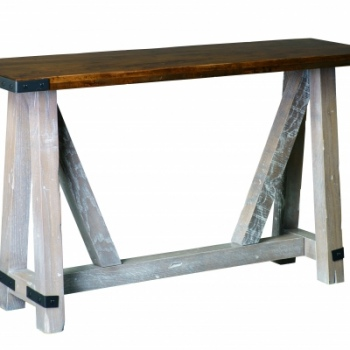 farmsteadsofatablebands--CCC- Farmstead Sofa Table with Bands