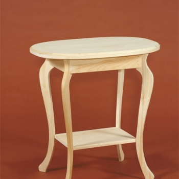 DR-280 Oval Table 26wx17dx27 1/2h$85.00