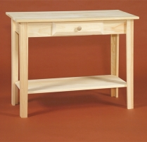 "DR-279 36"" Sofa Table with Shelf 35 1/2x15x27"