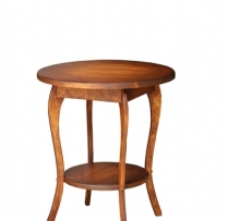 "HB-47 24"" Round Lamp Table 24wx27h$220.00"