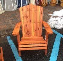 "MM-2 20"" Wide Cedar Adirondack Lounge Chair $290"