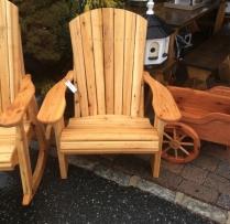 AV-AC Cedar Adirondack Chair $290