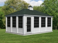 12' x 18' Vinyl Sunroom Gazebo