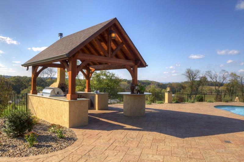 Custom Alpine Series Pavilions Amish Mike