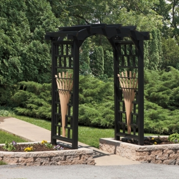 "LS-Round Top Poly Arbor Available  in 36""-48""-or 67"" $1340"