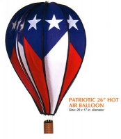 Patriotic 26 Inch Hot Air Balloon