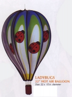 Ladybugs 22 Inch Hot Air Balloon