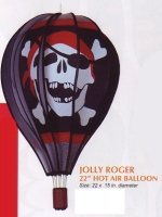 Jolly Roger 22 Inch Hot Air Balloon