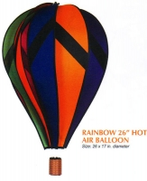 Rainbow 26 Inch Hot Air Balloon