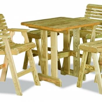 K-Pub Table $200 optional chairs $160 stools $95