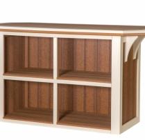 WV- 1200-P Summerside Bar 2 Shelves 3x4 $1170 3x5 $1530 $1900 3x8 $2525