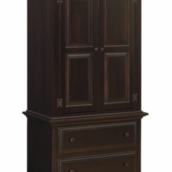 IE- 47 Armoire on Chest 35 1/2wx20 1/2dx69h