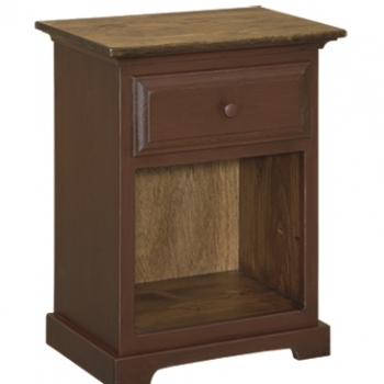 IE-42 1 Drawer Nightstand 22 1/2wx14 1/2dx29h