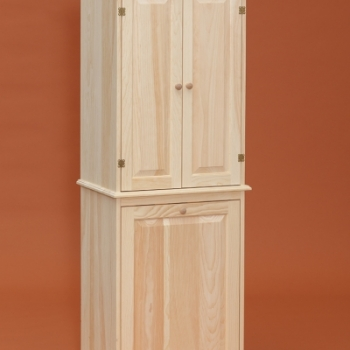 DR-569-One Door Primitive Wardrobe 22 1/2wx22dx69h