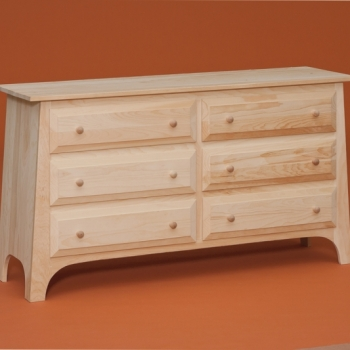 DR-650 6 Drawer Chest 53 1/2wx16 1/4dx29 3/4h
