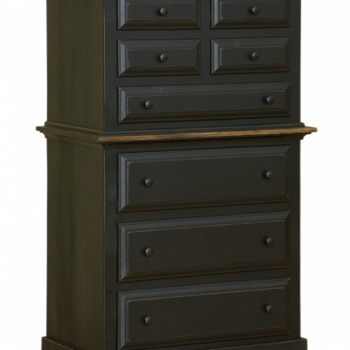 IE-54 Chest on Chest 35 1/2wx20 1/2dx57 1/2h