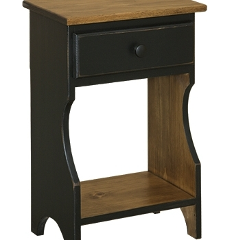 IE-56 Small Nightstand 15 1/2wx9 1/2dx24h