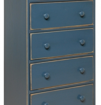K-1309-Large 5 Drawer Chest 22wx12dx42h