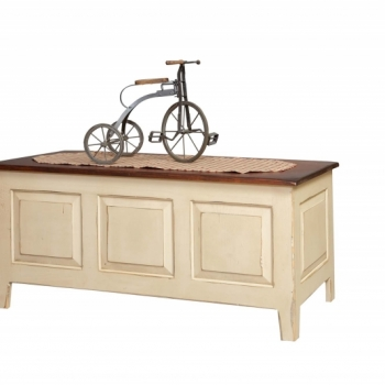 HB-76 Large Shaker Chest ( raised panel on 3 sides) 43wx19hx19d