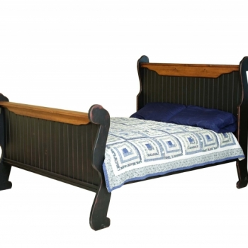 """HB-94-A Sleigh Bed Queen Headboard 60""""h Footboard 42""""h Also available in King(94) Full(94-B) Twin(94-C)"""