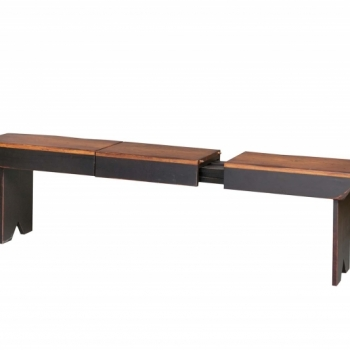HB-37-S (Opened) Extension Bench 42wx18hx12d