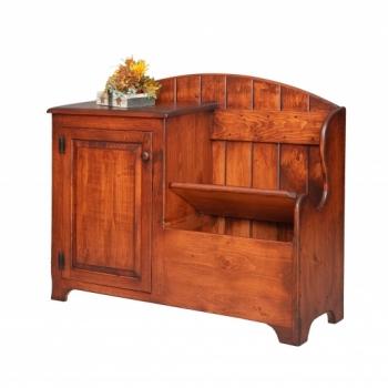 VIN-99 Deacon's Bench Cabinet 49wx40hx17d
