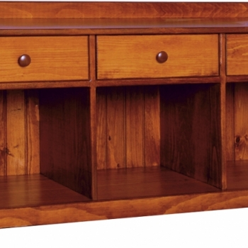 K-1382-50in Bench w Drawers 50wx16 1/2dx24h