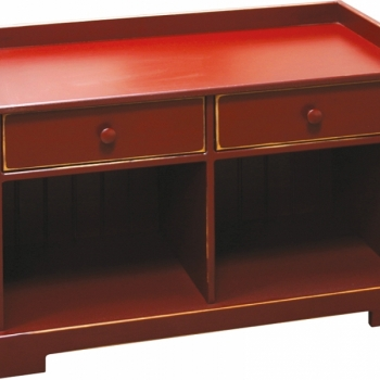 K-1393-36in Bench w Drawers 50wx16 1/2dx24h