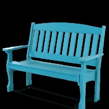 JWC- Poly English Garden Bench 4' $675; 5' $765
