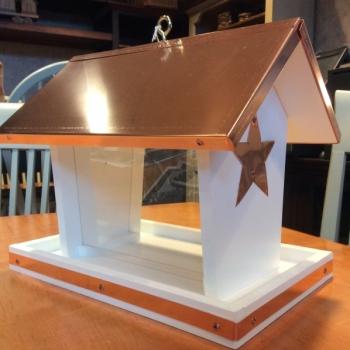 Star Hanging Bird Feeder $100