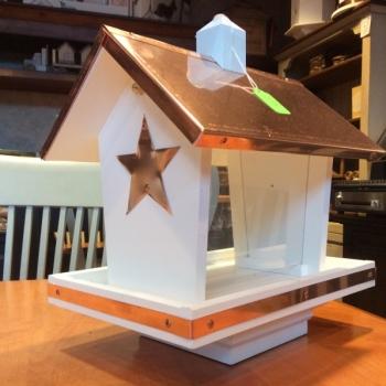 Star post Bird Feeder $110